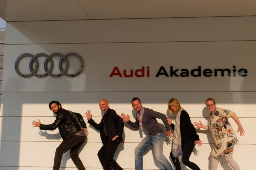 Audi Future Class Design Thinking Coaching Team